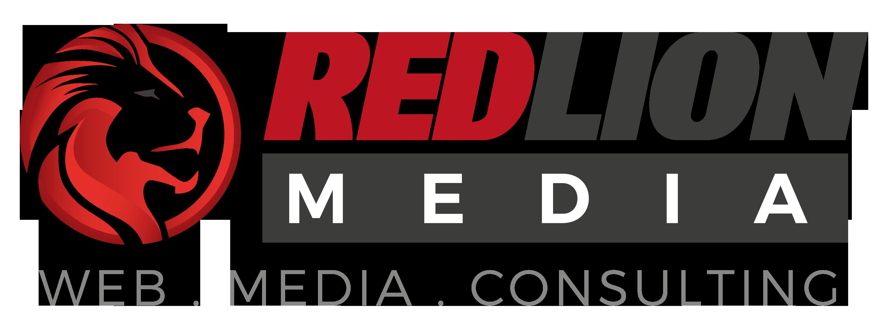 Logo redlion media Agentur